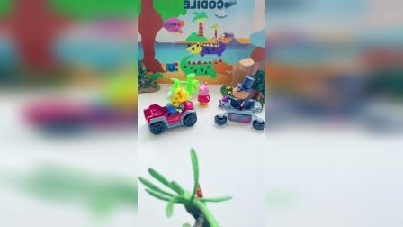 益智玩具:佩奇上我的车