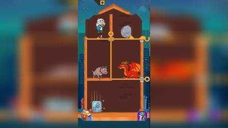 益智小游戏大叔下面有恶犬和恶龙