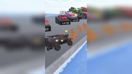 趣味小游戏:我又来参加汽车大赛啦!