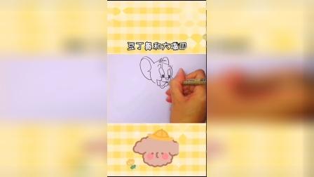 超简单的小老鼠杰瑞简笔画