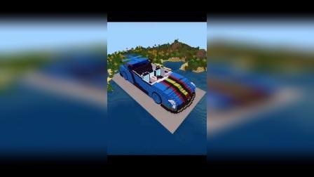 迷你世界VS我的世界:大神们的赛车