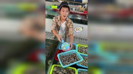 这老板也太大方了吧,据说这人工养殖金龙鱼要几百块钱一条