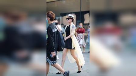 女人要如何才能有这气质!#蜀都街拍