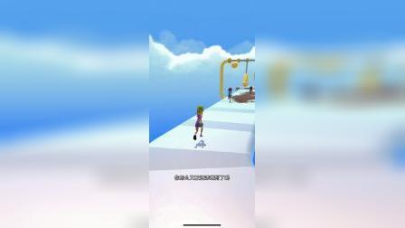 趣味小游戏:白雪跟朋友赛跑,怎么救他一个人这么倒霉