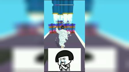 解压小游戏:家里停水顶着一身泡沫满街跑!