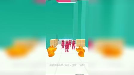 解压小游戏:神奇之手可以把敌人冰封!