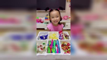 趣味童年:我又来做糖果小店长了,你们想吃什么糖果?