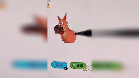 趣味小游戏小松鼠你的尾巴呢