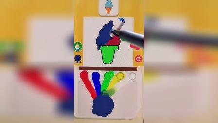 趣味小游戏没有人能做出一样的冰激淋