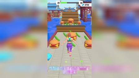 益智小游戏:这个大胖子是在干什么啊