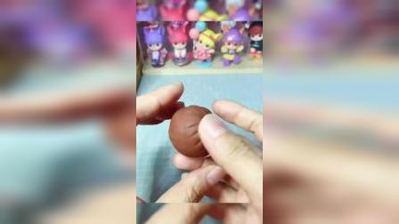超轻粘土:小椒头部制作教程