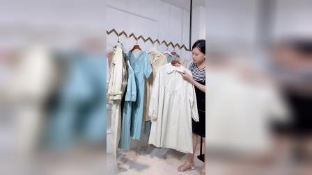 休闲品牌海贝紫涵21秋女装尾货厂家直销清仓