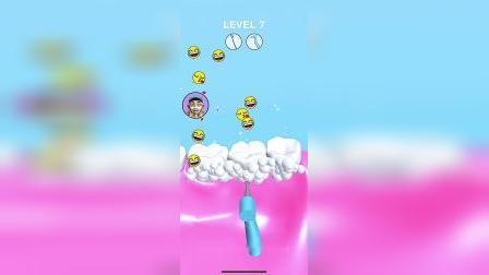趣味小游戏:白雪的牙齿生病了,看我来给她清洁