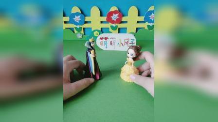 益智玩具:贝儿告诉王后白雪有日记本