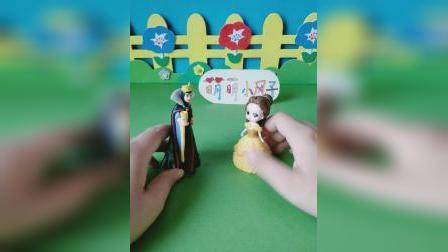 益智玩具:王后找贝儿商量事情
