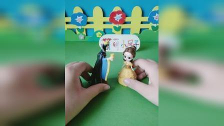 益智玩具:贝儿想知道白雪的日记里写了什么