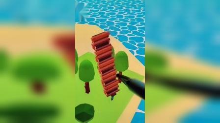 小游戏:小五搬木头是为了盖房子吗