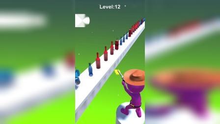 趣味小游戏:射击瓶子,小心里面隐藏的炸弹