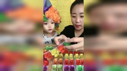 趣味童年小时候你喜欢吃水晶果冻吗