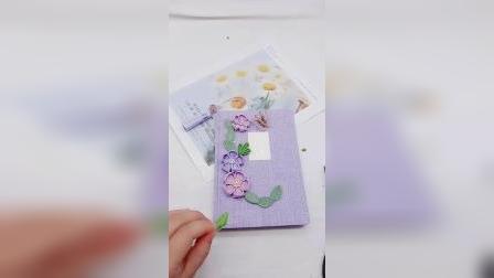 手工制作笔记本装饰教程(2)