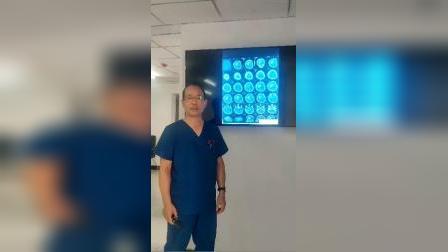 脑溢血患者的CT光片详解-磐真堂中医推拿培训 《1》