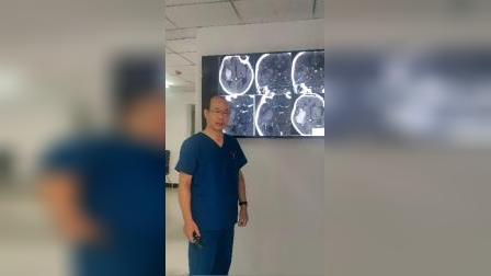 脑溢血患者的CT光片详解-磐真堂中医推拿培训 《3》