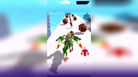 趣味小游戏:绿色的钢铁侠?