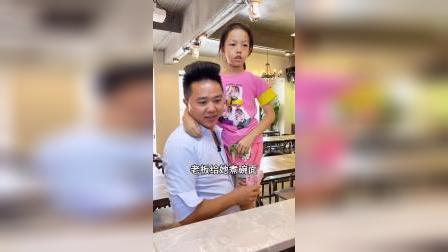 这么乖巧的孩子,能做她的爸爸是一种福气