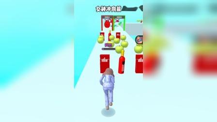 小游戏女神冲向前:有人能超过4米吗