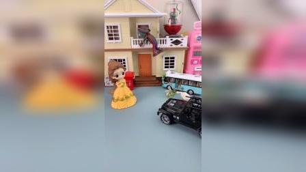 少儿亲子玩具:僵尸进屋被贝尔发现了