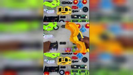 儿童益智玩具:消防车、摩托车、警车、公交车!
