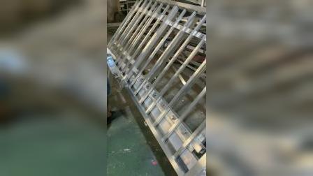铝护栏焊接,4分钟焊3米