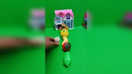 少儿益智玩具:这么多好吃的,哪个才是我的呢