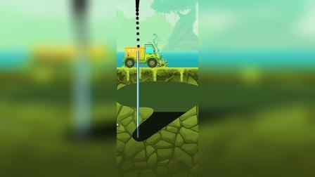 趣味小游戏,石油吸上来装满油罐车