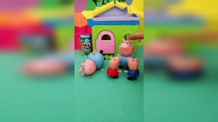 两个猪爸爸哪个才是真的呢