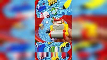 儿童益智玩具:消防车、救护车、警车、直升机、校车!