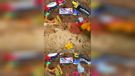 儿童益智玩具:挖掘机、翻斗车、推土机、搅拌车、压路机!