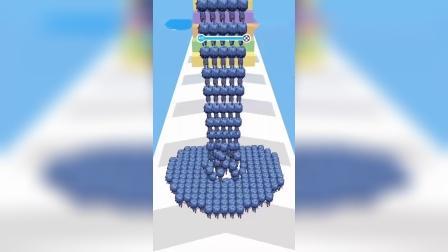 休闲游戏:唐三和小舞一起爬上金字塔,奥特曼就出来跳舞!
