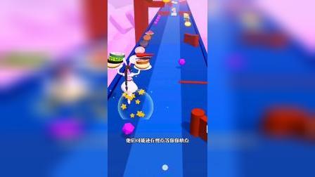 休闲游戏:小舞和朱竹清比赛,看来还是朱竹清厉害一点