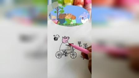 小猪佩奇简笔画,这是啥呀?