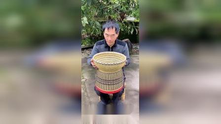 弘扬传统手艺文化,竹编针线盒,你们觉得怎样?