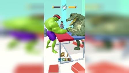 趣味小游戏:绿巨人在干啥呢?