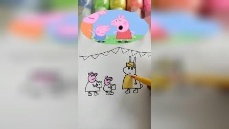 小猪佩奇简笔画,你们喜欢吗?