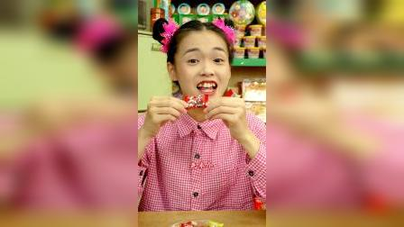 趣味童年小时候你吃过板牙糖吗