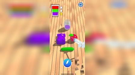 趣味小游戏:按照颜色排序,抽水果汁