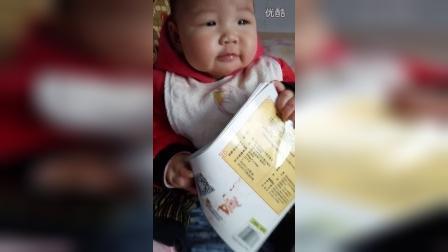 可爱宝的中英双语自我介绍儿童英语ABC少儿英语ABC