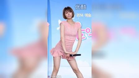 靓点着迷- 粉红色短裙摆摆热舞
