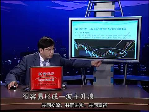 最新张欣股市短线实战操盘技术系列之波段为王6山包修筑后的波段
